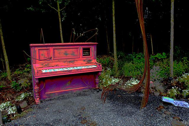 Piano psychédélique