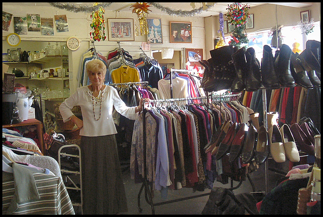 Auntie Wainwright's charity shop