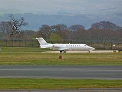 IoM Learjet