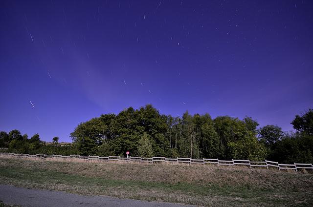 BELFORT: Le fort du Salbert de nuit par pleine lune. 03