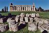 Temple & Broken Columns at Paestum, Nov. 2003
