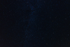 Cassiopeia (unten Mitte) & Milchstraße - 20130811