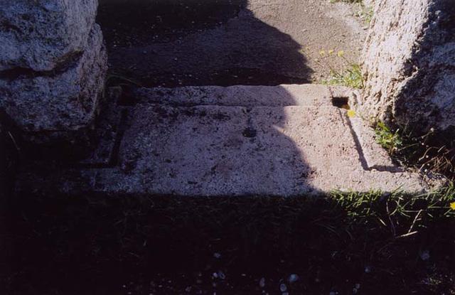 Doorjamb in a House in Paestum, 2003