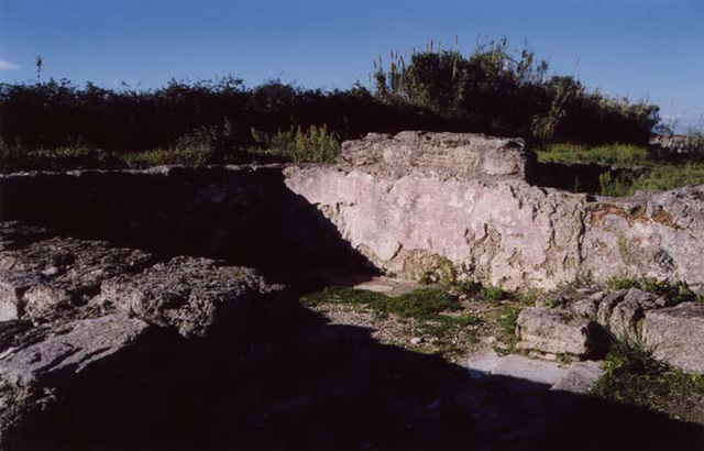 Remains of a Roman House in Paestum, Nov. 2003