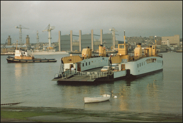 Torpoint Ferry 1983