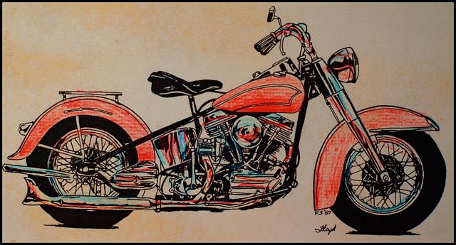 Floyd's Harley