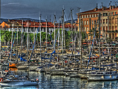 SAINT-RAPHAEL: Le port.