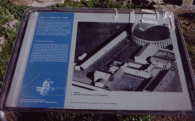 NorthOfForumSignPaestum2003