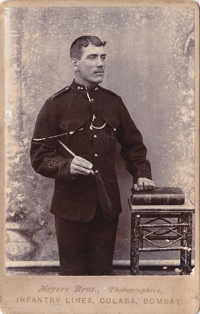 Infantry Man, Bombay c1890