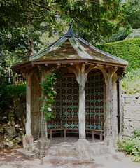 Tyntesfield- Summer House in the Rose garden