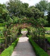 Tyntesfield- The Rose Garden