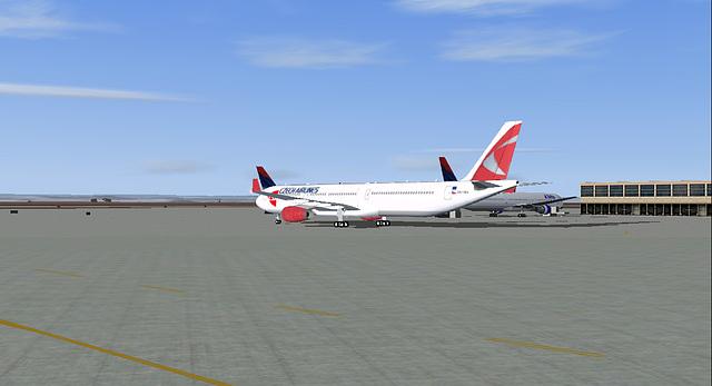 FS2004 CSA Airbus A330-323X