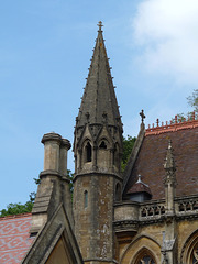 Tyntesfield- Pinnacle of the Chapel