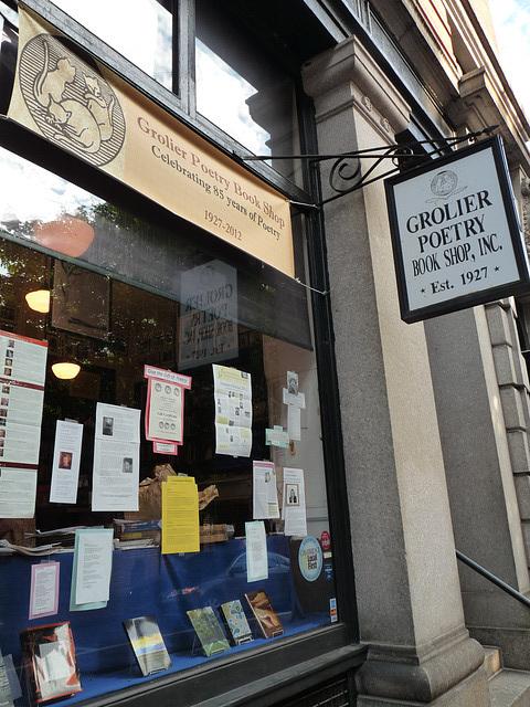 Grolier Poetry Book Shop