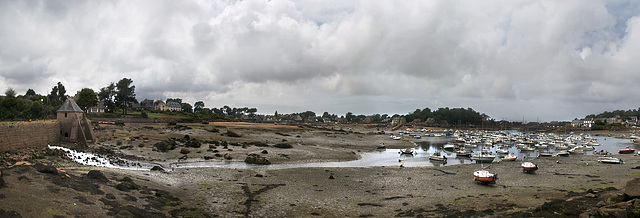 Le moulin à marée [Saint-Guirec - Bretagne]