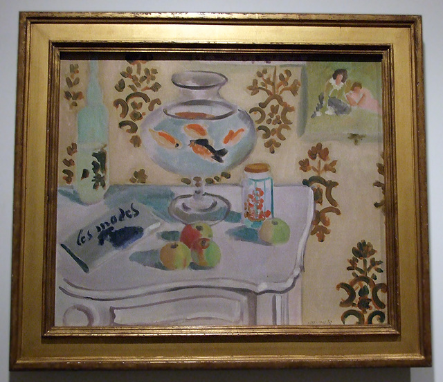the goldfish bowl by matisse in the museum of art march