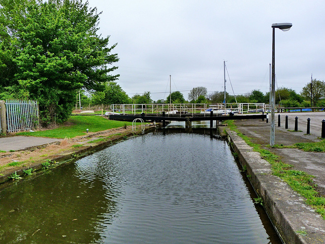 Fiddlers Ferry Lock 1