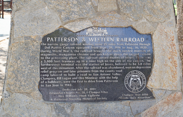Stanislaus Patterson and Western RR (0563)