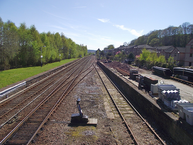 Dingwall station - looking South(2)