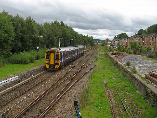 Dingwall station - looking South(1)