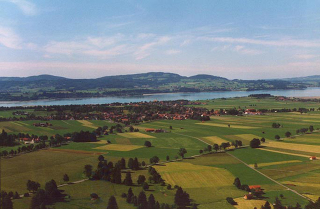 Landscape from Neuschwanstein, 1998