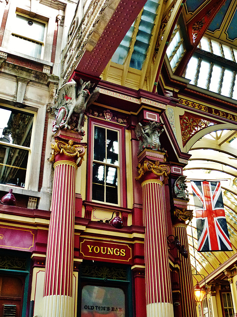 leadenhall market, gracechurch st., london