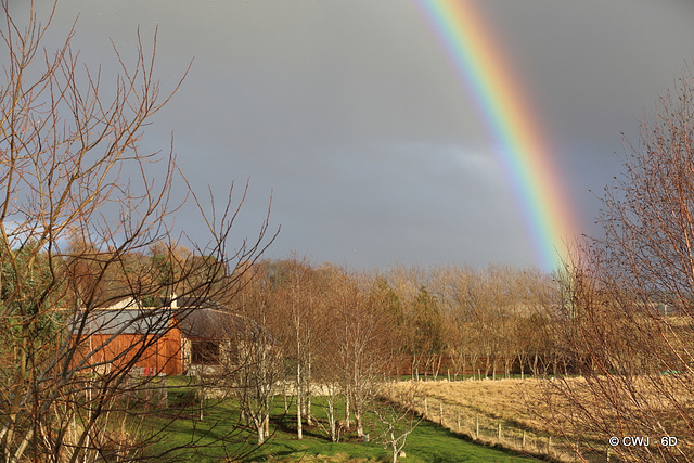 Not taking bets on whether there is a pot of gold in my field...