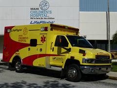Miami Children's Hospital Ambulances (2) - 2 February 2014