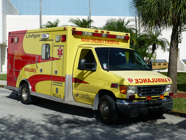 Miami Children's Hospital Ambulances (3) - 2 February 2014