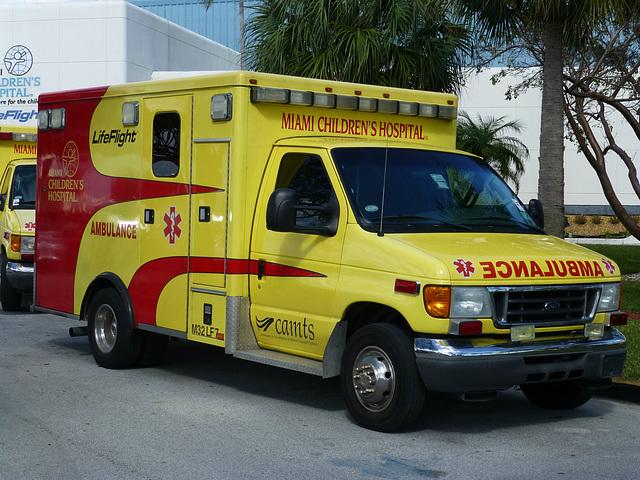 Miami Children's Hospital Ambulances (4) - 2 February 2014