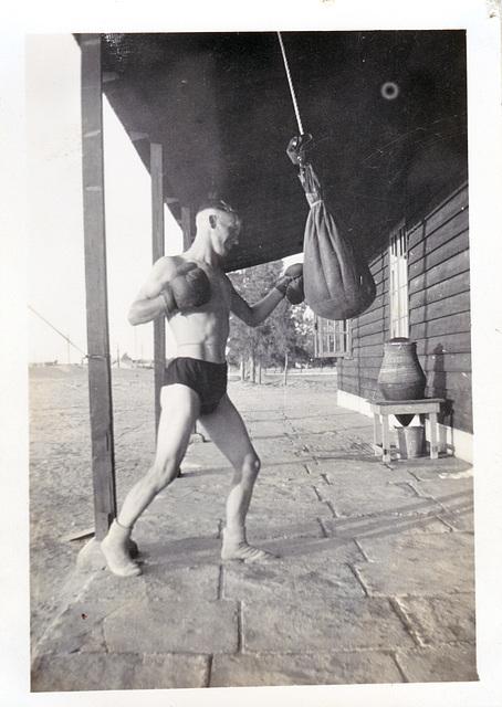 Training British Army c1950