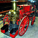 Steam-powered Fire Engine.