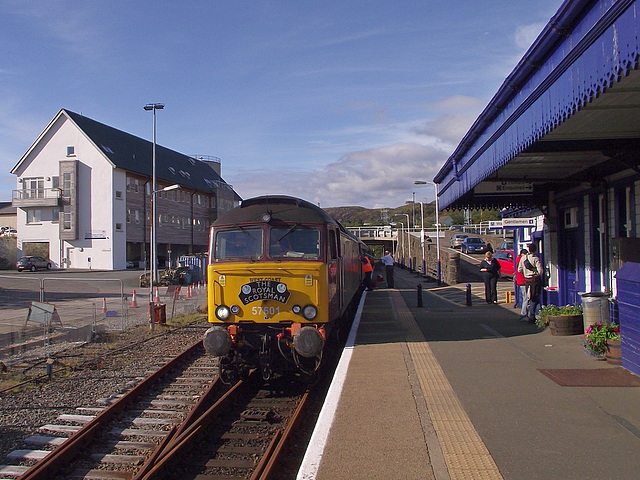 57 601 after arrival at Kyle
