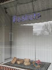 Southern Delaware vertical blinds display.