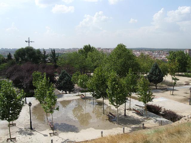 View of Gardens from el Grande