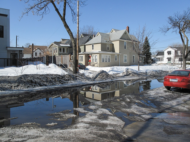 The Name of This Mudpuddle is Aldrich Avenue South.