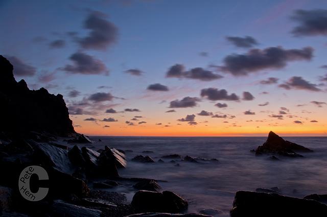 Cornish coast near Crackington Haven
