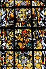 Vitrail de Max Ingrand - Cathédrale de St-Malo