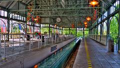 EUROPAPARK: Gare: Alexander place.