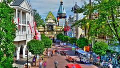 EUROPAPARK: Alexander place.