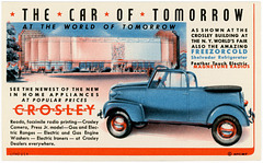 The Car of Tomorrow at the World of Tomorrow, 1939
