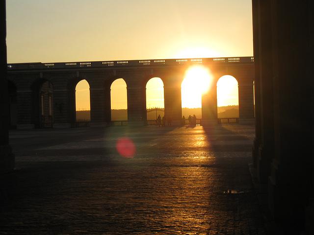 Sunset near the Royal Palace