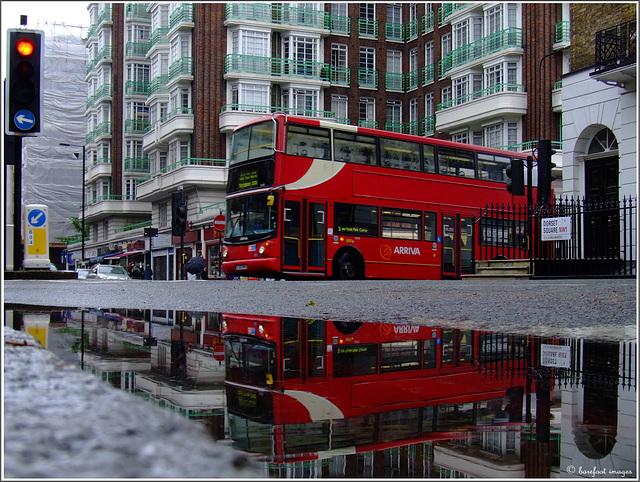 i love london in the rain