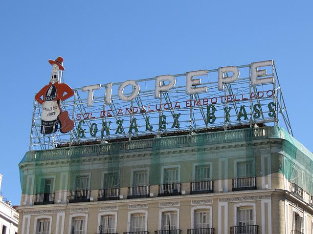 Tio Pepe, Puerta del Sol