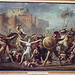 The Intervention of the Sabine Women by Jacques-Louis David in the Louvre, March 2004