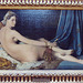 La Grande Odalisque by Ingres in the Louvre, March 2004