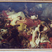 The Death of Sardanapalus by Delacroix in the Louvre, March 2004