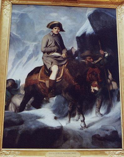 Napoleon by Delaroche in the Louvre, March 2004