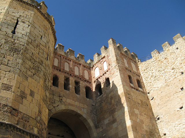 Segovia city walls