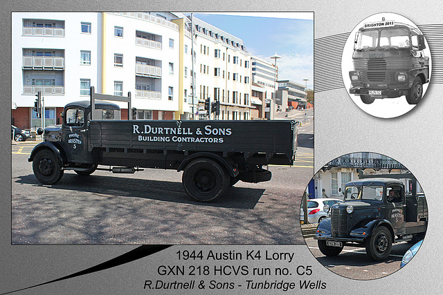 C5 1944 Austin K4 Lorry GXN 218